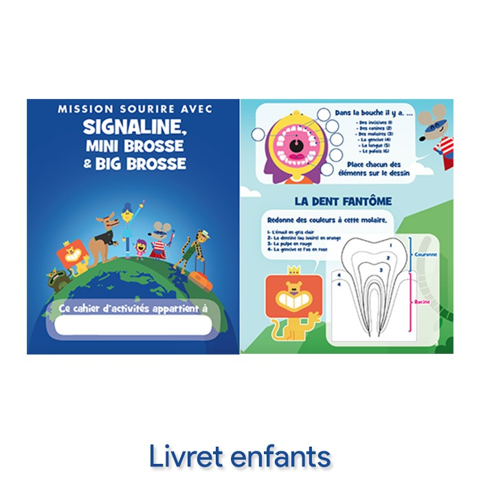 Extrem Nouveau Kit Mission sourire avec Signaline - kits écoles - TOUS  RD21